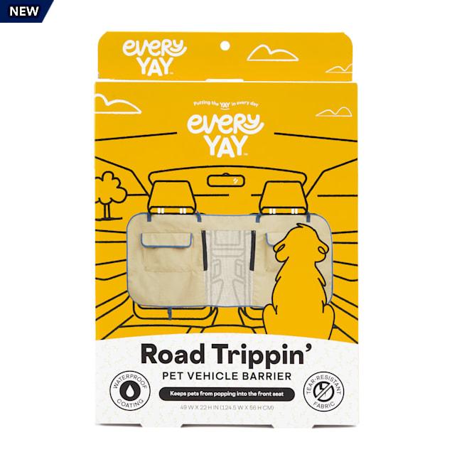 EveryYay Road Trippin' Khaki Pet Vehicle Barrier - Carousel image #1