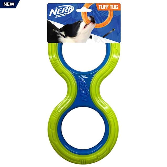 Nerf TPR Megaton Infinity Tug Dog Toy, Medium - Carousel image #1