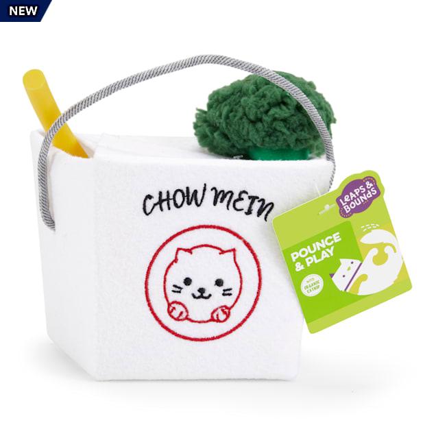 Leaps & Bounds Noodle Box Cat Toy Set - Carousel image #1