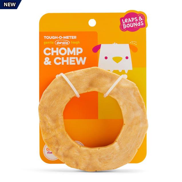 Leaps & Bounds Nylon Ring Dental Dog Chew Toy, Medium - Carousel image #1