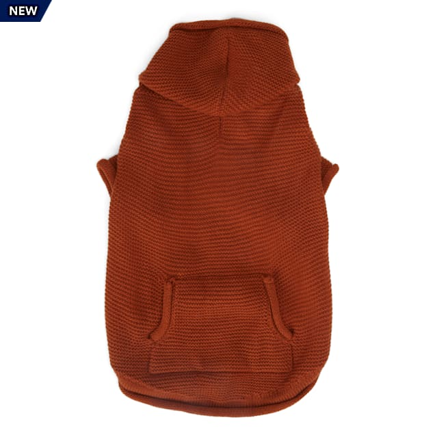 YOULY The Classic Rust Dog Hoodie, XX-Small - Carousel image #1