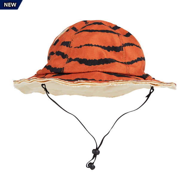 YOULY The Party Animal Tiger-Print Dog Bucket Hat, X-Small/Small - Carousel image #1