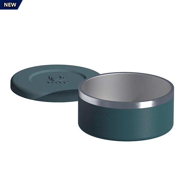 ASOBU The Bonita Insulated Blue Dog Bowl, 8 Cups - Carousel image #1
