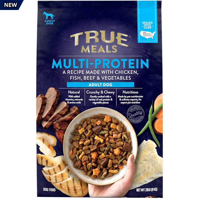 True Meals Multi-protein Adult Dry Dog Food, 20 lbs. - Carousel image #1