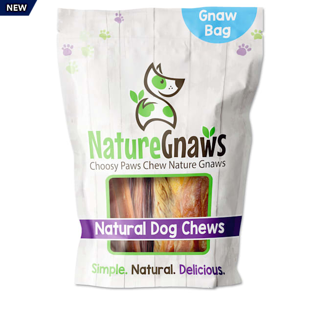 Nature Gnaws Large Variety Pack Natural Dog Chews, 9 oz. - Carousel image #1