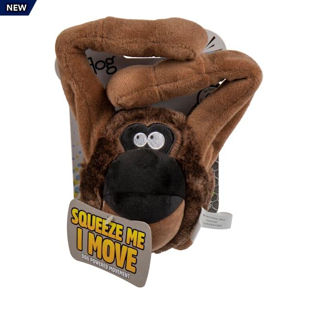 goDog Ape Animated Squeaker Dog Toy, Medium - Carousel image #1