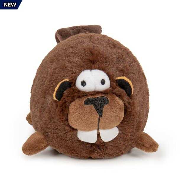 goDog Beaver Animated Squeaker Dog Toy, Medium - Carousel image #1