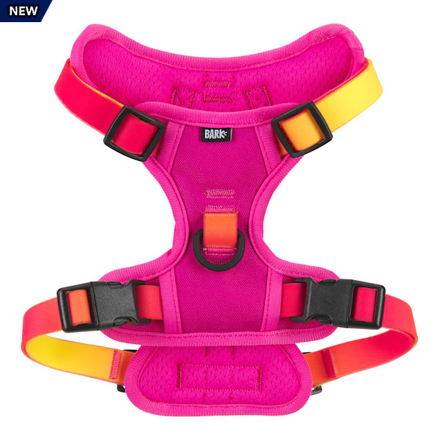 BARK Beach Pink Bum Ombre Dog Harness, Small - Carousel image #1