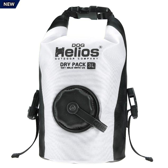 Dog Helios White 'Grazer' Waterproof Outdoor Travel Dry Food Dispenser Bag - Carousel image #1