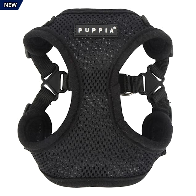 Puppia Black Soft Comfort Dog Harness, Small - Carousel image #1