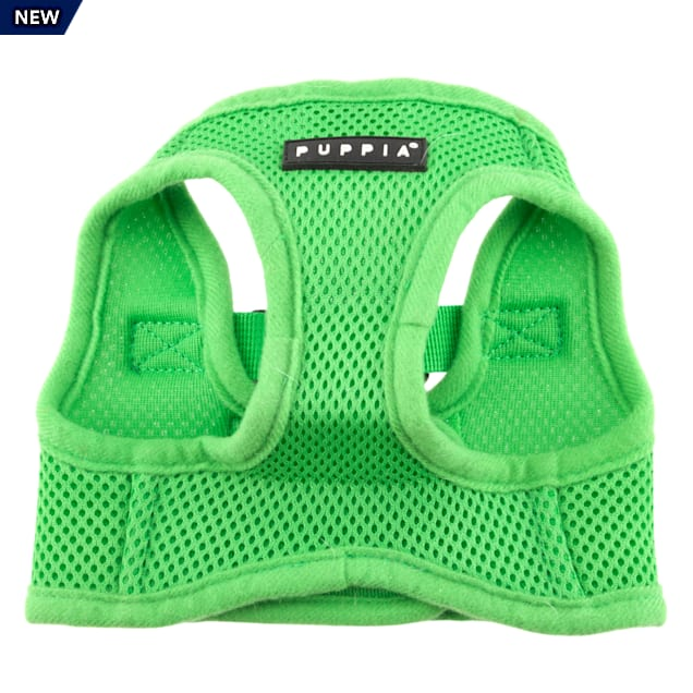 Puppia Green Soft Vest Dog Harness, X-Small - Carousel image #1