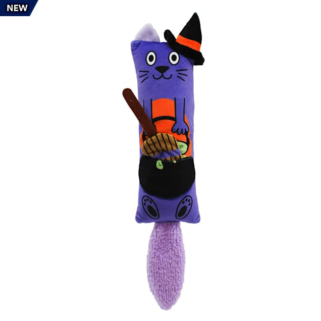 KONG Halloween Kickeroo 2-in-1 Witch Cat Toy - Carousel image #1