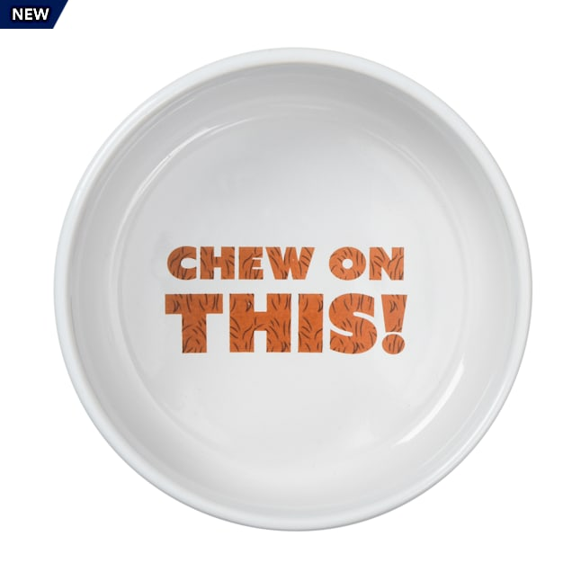 """Fetch for Pets Star Wars Chewbacca """"Chew on This"""" Dog Bowl, 3.5 Cups - Carousel image #1"""