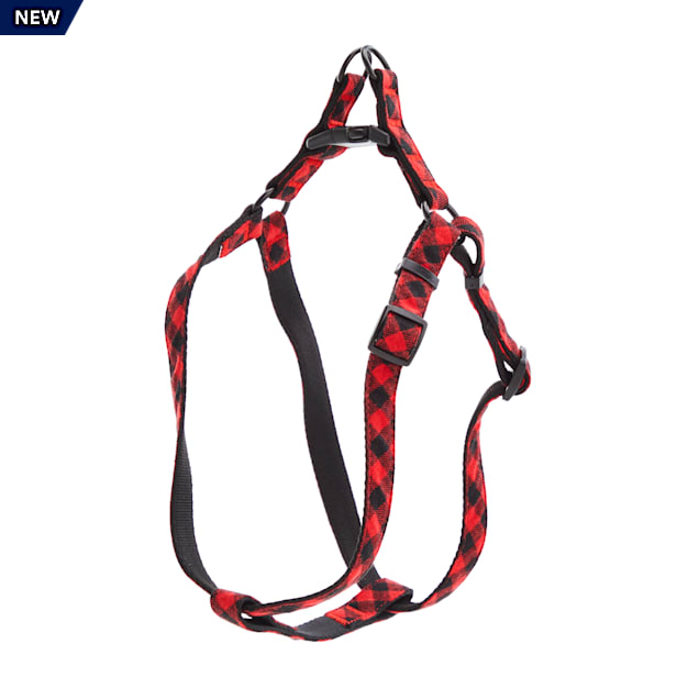 Merry Makings Check Me Out Buffalo Check Dog Harness, X-Small/Small - Carousel image #1