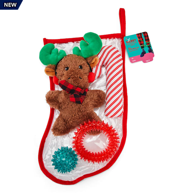 Merry Makings All Stocked Up Stuffed Stocking Dog Toy Gift Set - Carousel image #1