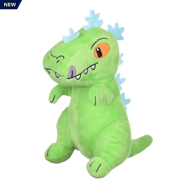 Fetch for Pets Nickelodeon Rugrats Reptar Figure Plush Dog Toy, Medium - Carousel image #1