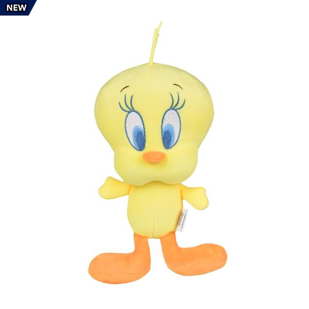 Fetch for Pets Looney Tunes Tweety Bird Big Head Plush Dog Toy, Small - Carousel image #1