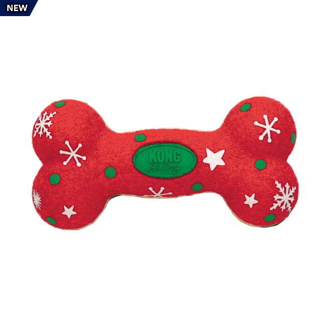 KONG Holiday AirDog Bone Dog Toy, Medium - Carousel image #1
