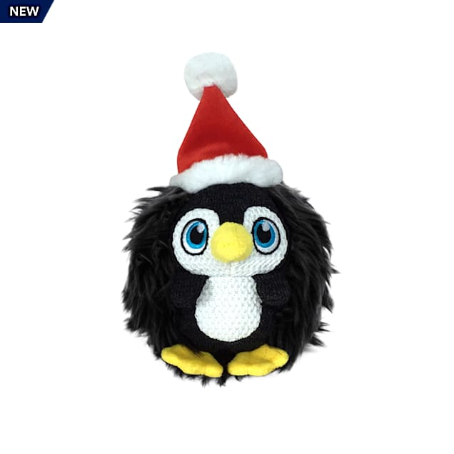 KONG Holiday ZigWigz Penguin Dog Toy, Medium - Carousel image #1