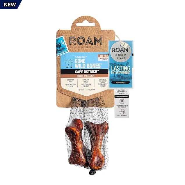 ROAM Gone Wild Bones Dog Treats, 4.2 oz., Pack of 2 - Carousel image #1