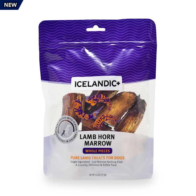 Icelandic+ Lamb Marrow Whole Pieces Dog Treats, 3.5 oz. - Carousel image #1