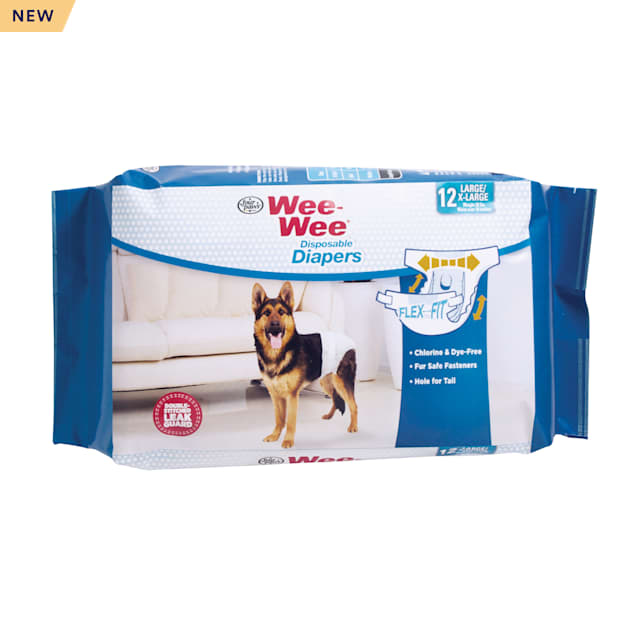 Wee-Wee Disposable Diapers, 12 Pack, Large/XL - Carousel image #1