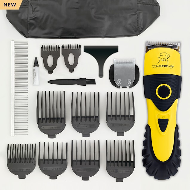 ConairPro dog & cat 2-In-1 Clipper/Trimmer Pet Grooming Kit, 17 Piece - Carousel image #1