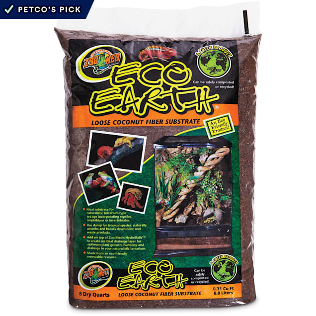 Zoo Med Eco Earth Loose Coconut Fiber Substrate - Carousel image #1