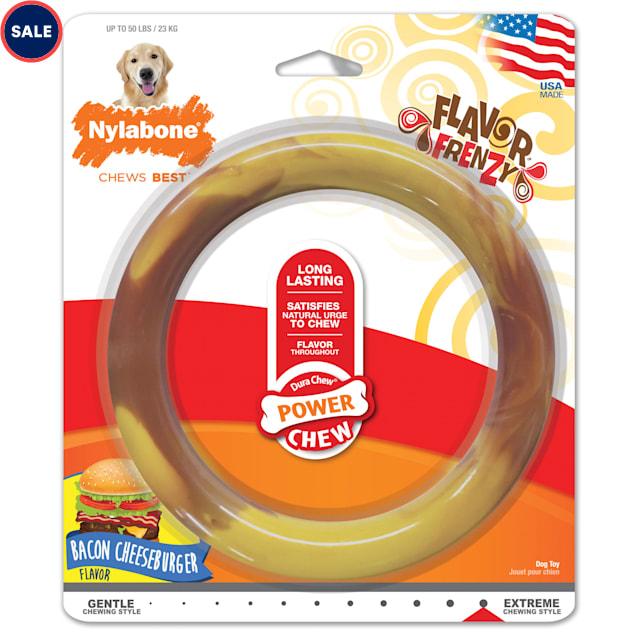 Nylabone Power Chew Smooth Ring Dog Toy, Large - Carousel image #1