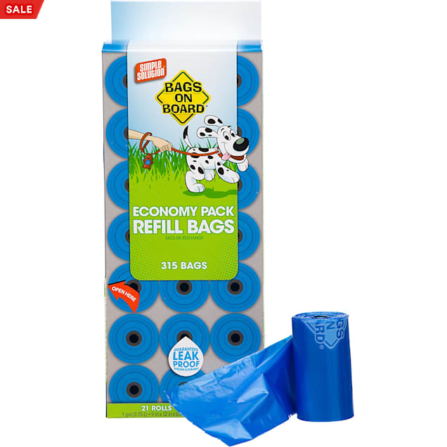 Bags on Board Doggie Clean-Up Bags, 315 Count - Carousel image #1