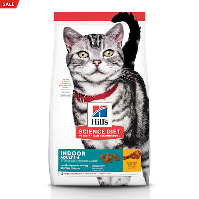 Hill's Science Diet Adult Indoor Chicken Recipe Dry Cat Food, 15.5 lbs. - Carousel image #1