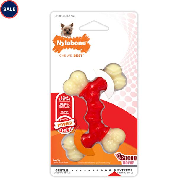 Nylabone DuraChew Double Bone Dog Toys, Small - Carousel image #1