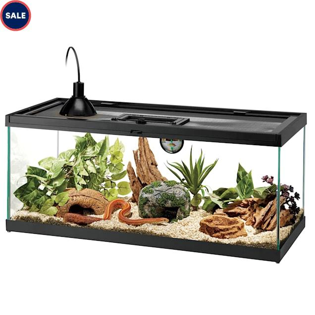 Aqueon Standard Glass Aquarium Tank 20 Gallon Long - Carousel image #1