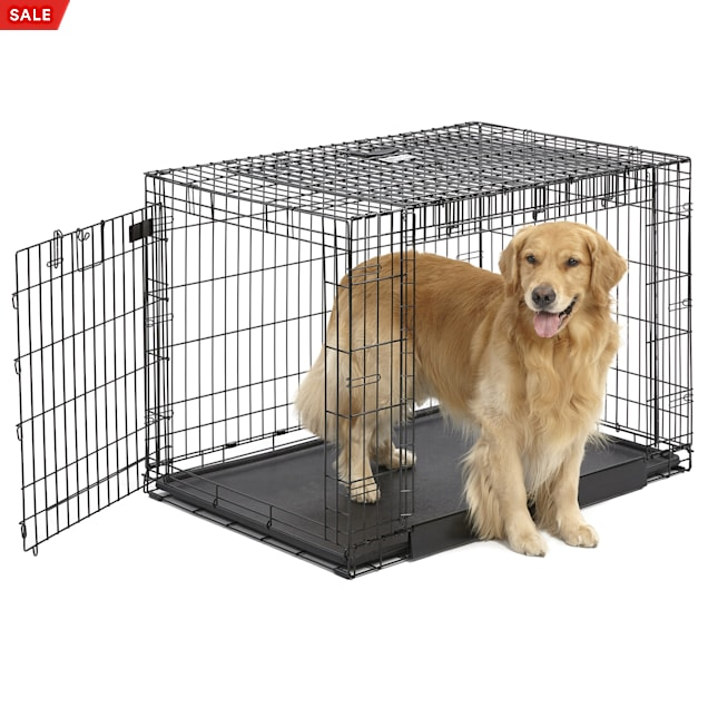 """Midwest Ovation Trainer Double Door Dog Crate, 43"""" L X 29"""" W X 31"""" H - Carousel image #1"""