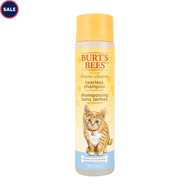 Burt's Bees Natual Buttermilk Tearless Kitten Shampoo, 10 fl. oz. - Carousel image #1