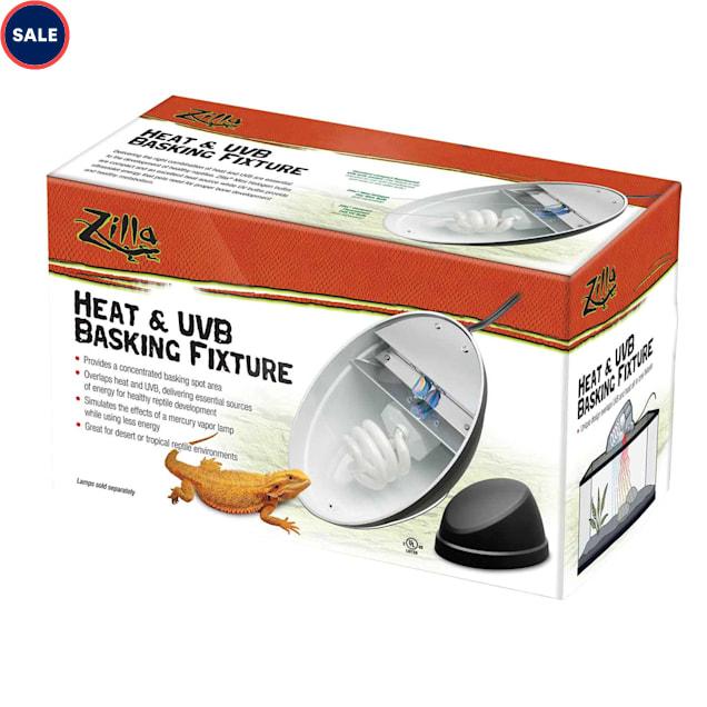 Zilla Heat & UVB Basking Fixture - Carousel image #1
