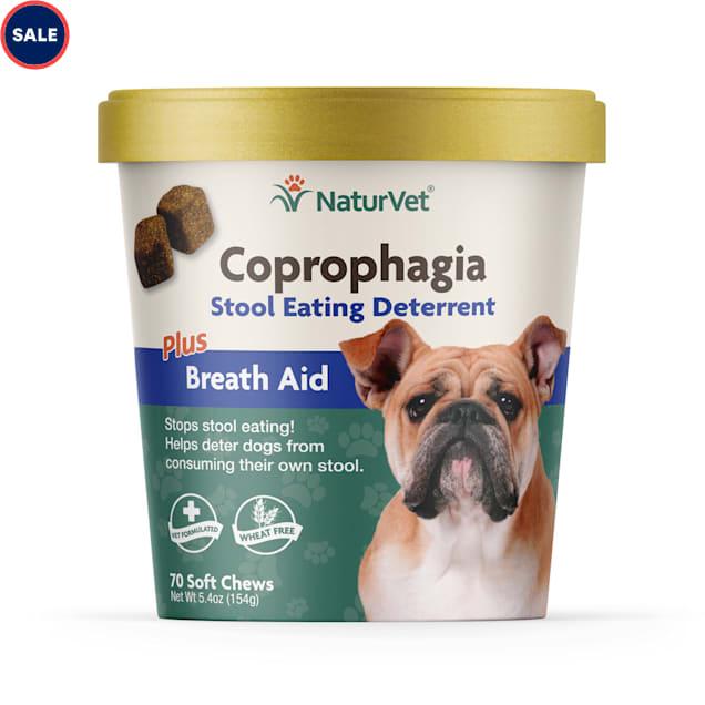 NaturVet Coprophagia Stool Eating Deterrent Dog Chews, 70 chews - Carousel image #1