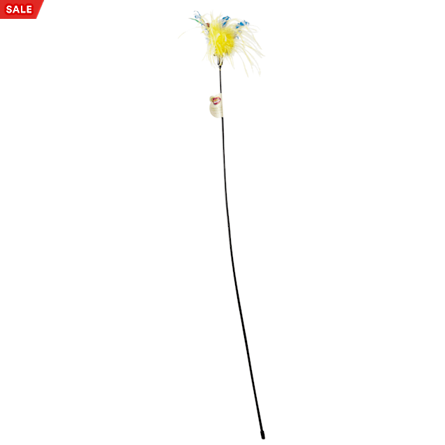 """Leaps & Bounds Wildflower Feather Cat Teaser, 36"""" Length - Carousel image #1"""