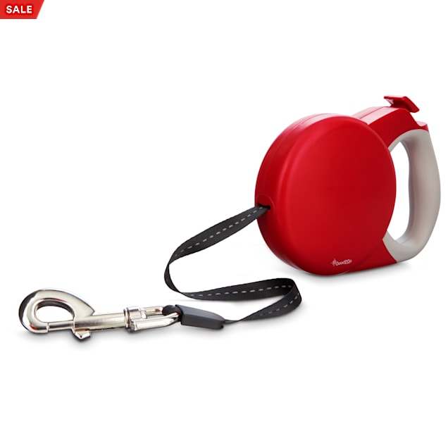 Good2Go Retractable Red Dog Leash, Large - Carousel image #1