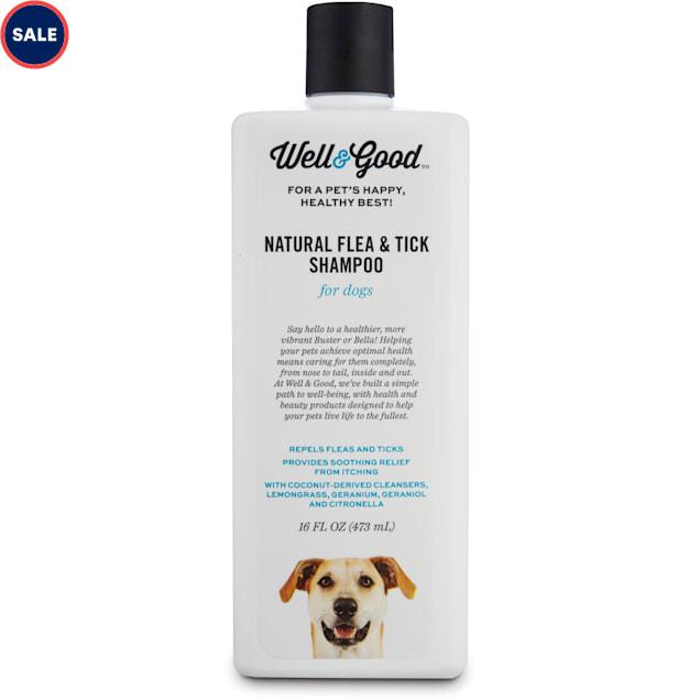 Well & Good Natural Flea and Tick Dog Shampoo, 16 fl. oz. - Carousel image #1