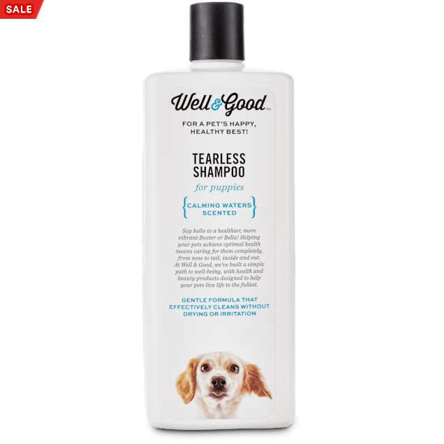 Well & Good Tearless Puppy Shampoo, 16 fl. oz. - Carousel image #1