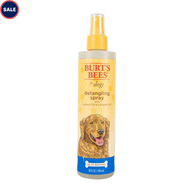 Burt's Bees Lemon & Linseed Oil Detangler Dog Spray, 10 fl. oz. - Carousel image #1