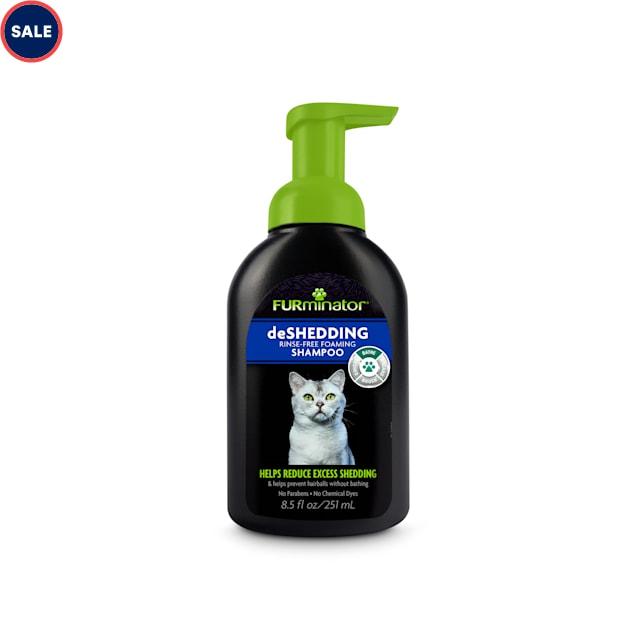 FURminator deShedding Rinse Free Foaming  Shampoo for Cats, 8.5 oz. - Carousel image #1