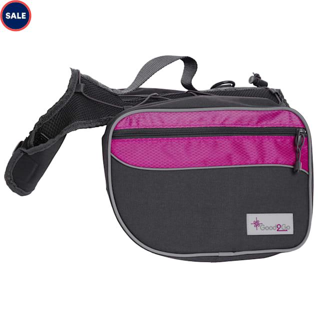 Good2Go Pink Dog Backpack, Large - Carousel image #1