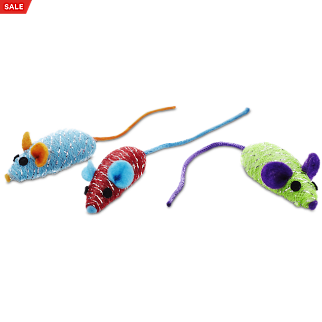 Leaps & Bounds Mesh Mouse Cat Toy in Assorted Styles - Carousel image #1