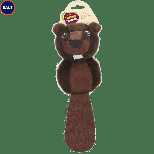 Leaps & Bounds Small Wildlife Assorted Beaver, Fox, or Raccoon Flattie - Carousel image #1