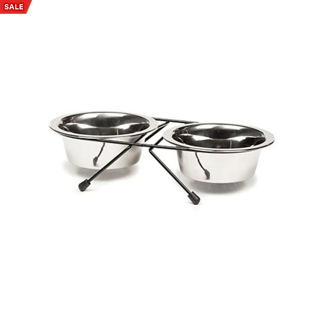 Harmony Stainless Steel Double Diner, 1.5 Cup - Carousel image #1