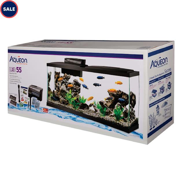 Aqueon 55 Gallon LED Aquarium Kit - Carousel image #1