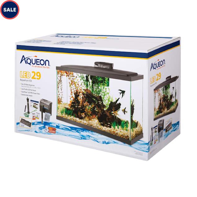 "Aqueon LED 29 Gallon Aquarium Kit, 32.25"" L X 14.25"" W X 20.63"" H - Carousel image #1"