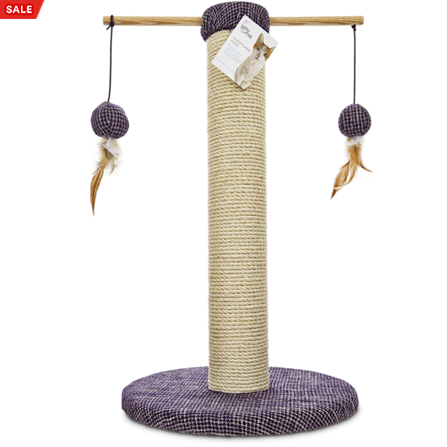 """You & Me Sisal Cat Scratch Post, 24"""" - Carousel image #1"""